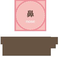 「鼻」かぜが治らない、鼻水がでる、花粉症を治したい、蓄膿症、無呼吸症候群